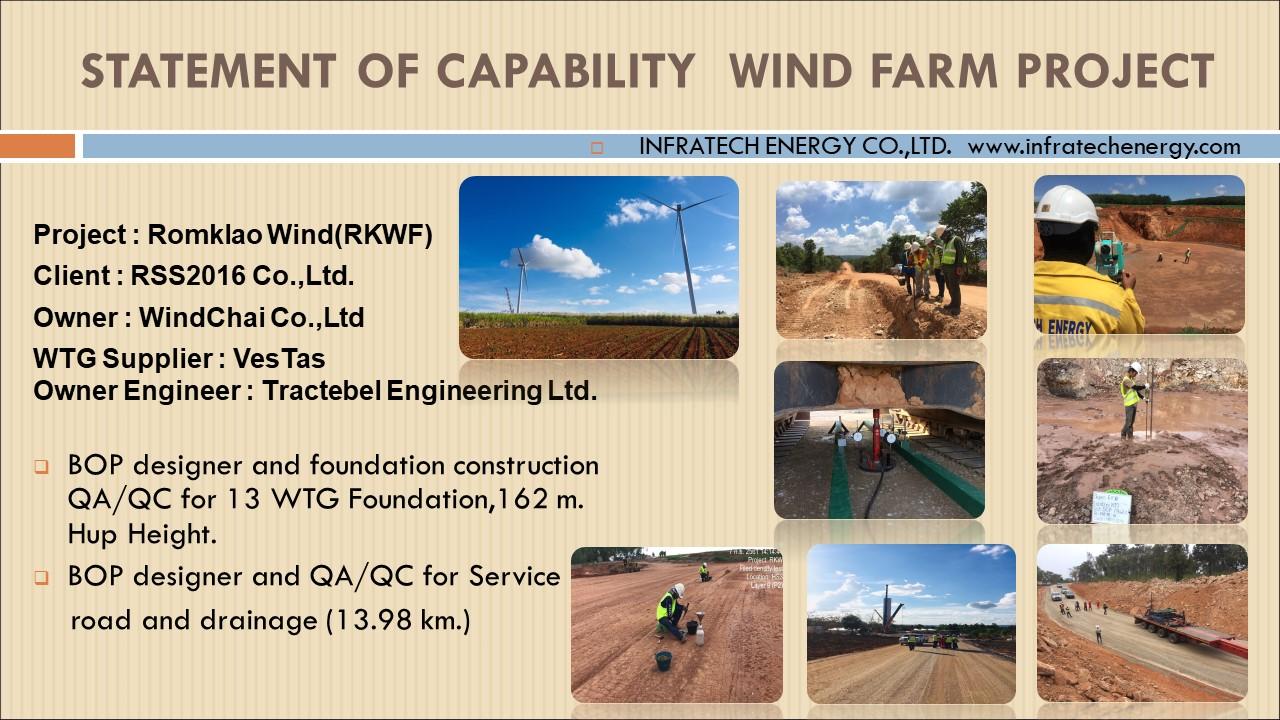 wind fram project